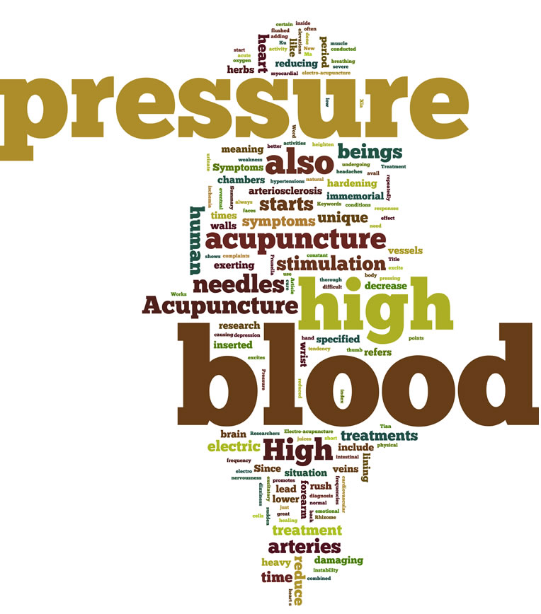 Acupuncture for the treatment of high blood pressure